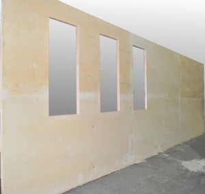 Modular wall panels preconfigured insulated frameless cam lock wall panels