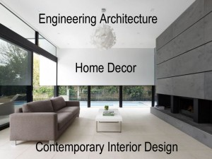engineering architecture contemporary interior design home decor