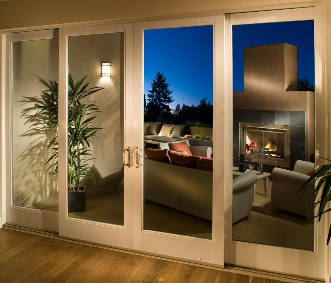 Architectural sliding door contemporary architect design for Sliding patio door replacement