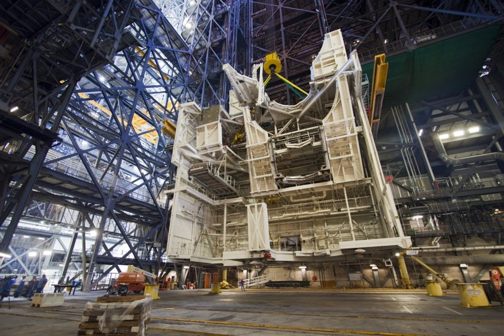 Architectural Designers Kennedy Center NASA assembly station builder