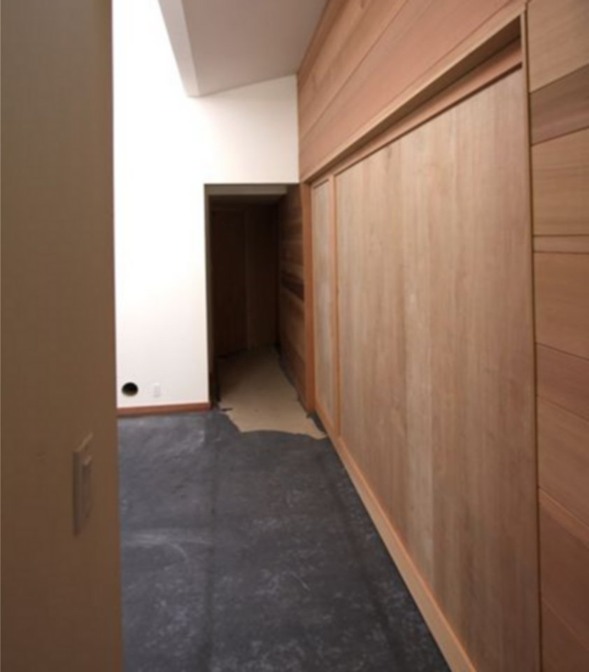 Non Warping Insulated Room Dividers Large Sliding Doors