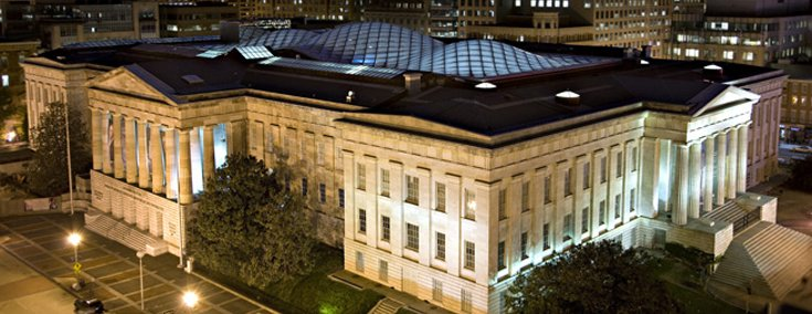 Smithsonian Institution Patent Office Building innovative building materials