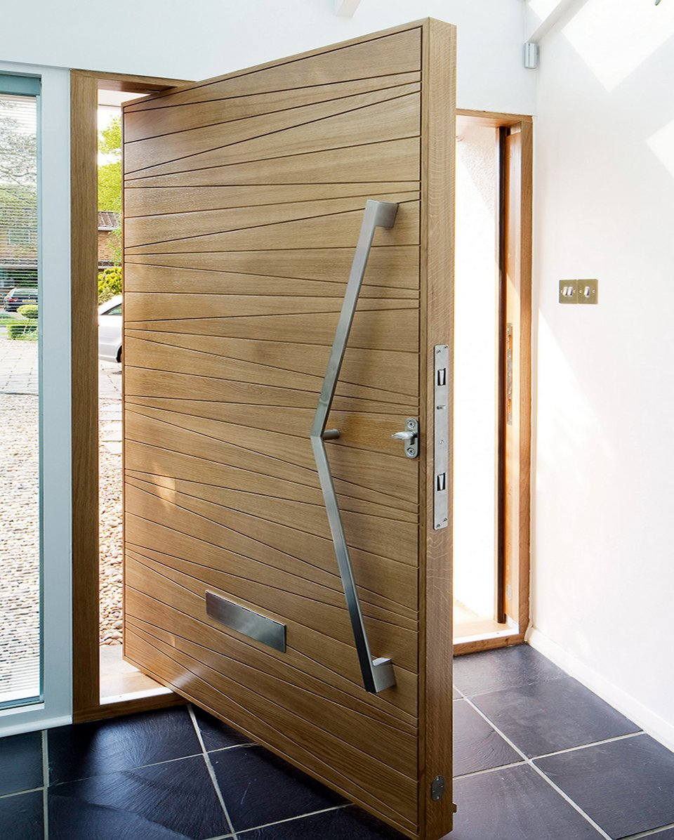 Architectural Pivot Door Contemporary Architecture