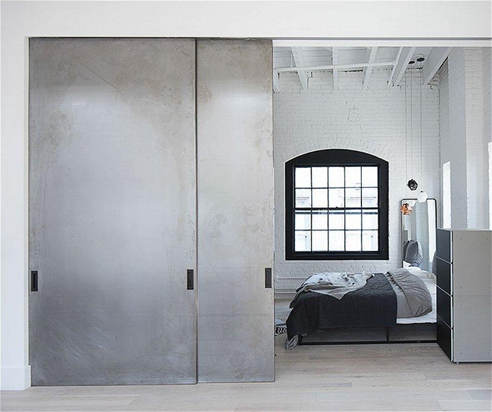 Large Lightweight Sliding Barn Door
