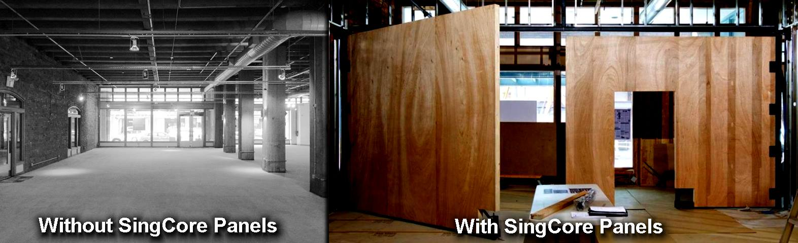 Seattle Design Center AIA Before After Sing Core