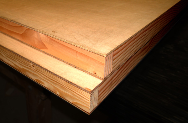 sing core AB ply wood paint grade panels