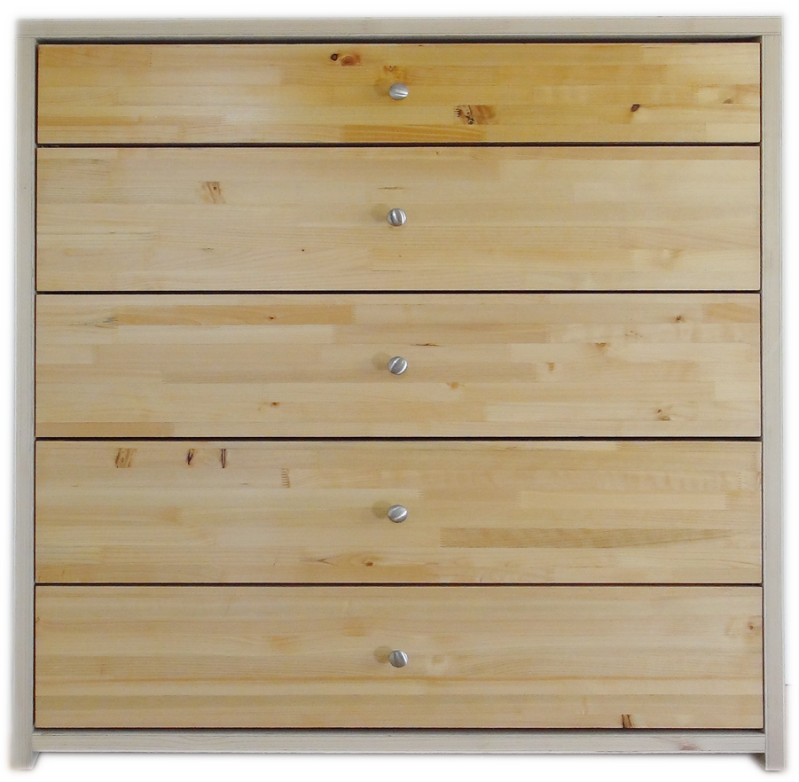 SingCore Five Drawer Dresser