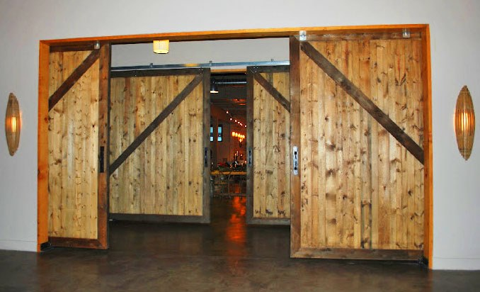 Large Lightweight Interior Sliding Barn Doors