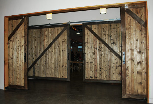 Insulated Exterior Sliding Barn Doors